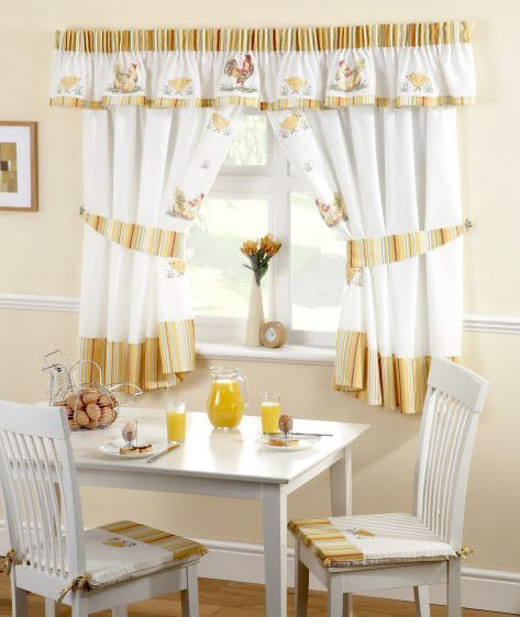 Lovely Kitchen Curtains