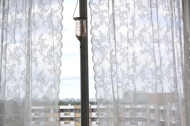 Ikea lace curtains 2016 for Ikea cafe curtains