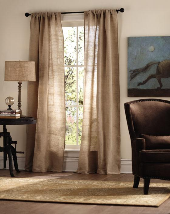 Appealing Linen Curtains