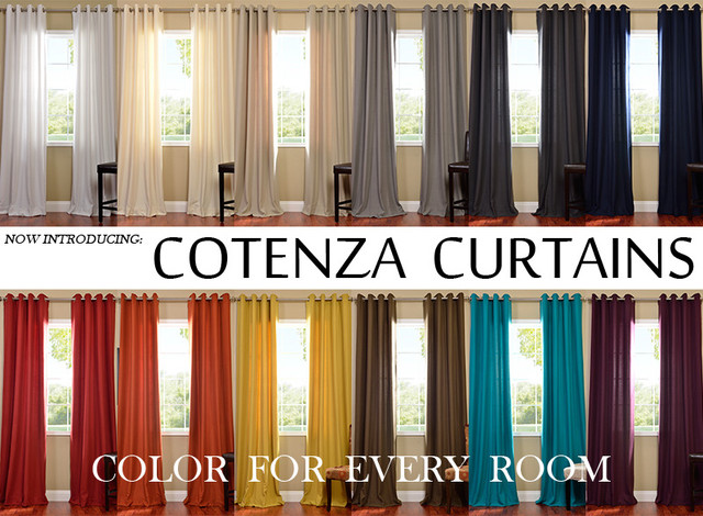 Cotenza Modern Curtains