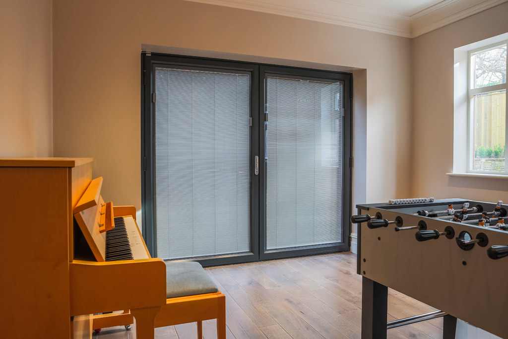 Integral Patio Door Blinds