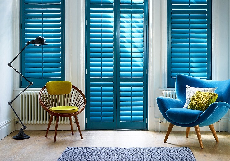 DIY Made Plantation Shutters