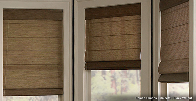 Scoop Up Roman Shades