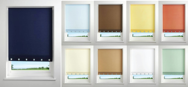 Colorful Window Blind