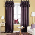 Purple Curtain Patterns