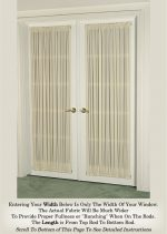 Privacy Curtains For French Doors