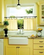 Yellow Kitchen Curtain Ideas