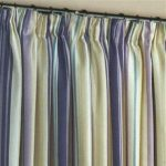 Colorful Lined Curtains