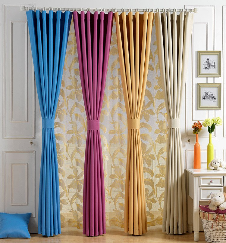 Neat Long Curtains