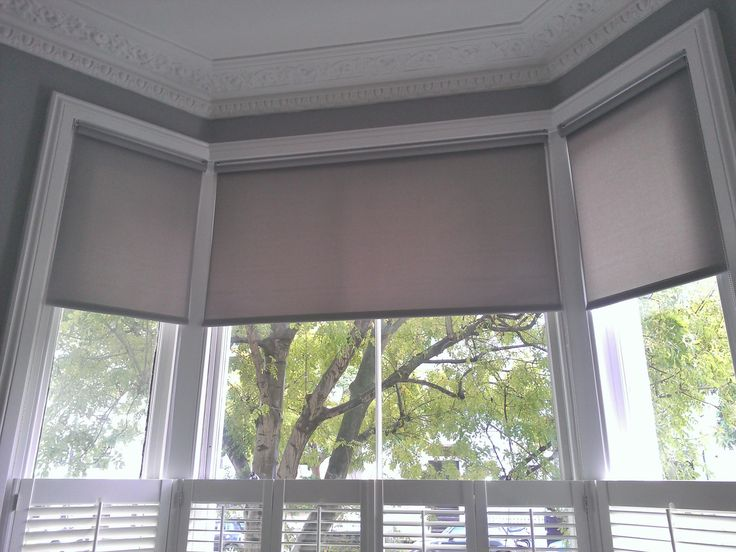 Roller Bay Window Blinds