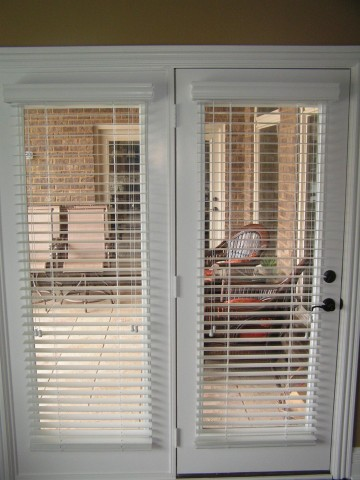 Secure Blinds For French Doors