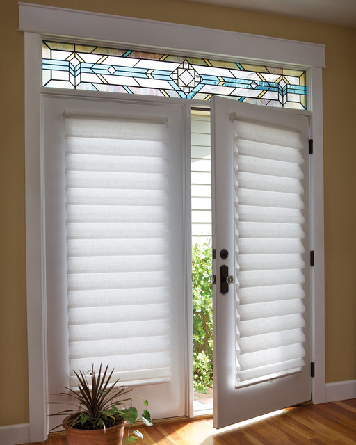 Vignette French Door Blinds