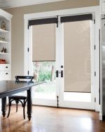 Neat French Door Curtains