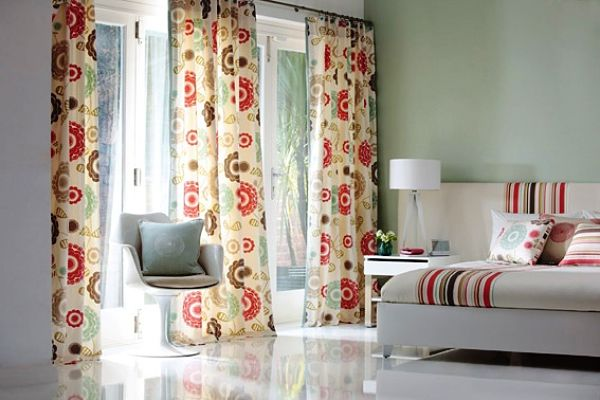Colorful Patterned Curtains