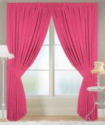 Frisco Pink Curtains