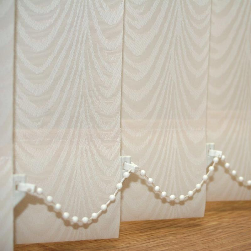 Cream Vertical Blind Slats