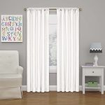 Eclipse Kendall Blackout Curtain, 95, White
