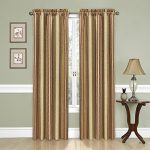 Traditions by Waverly Stripe Ensemble Window Panel Antique