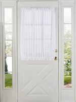 Stylemaster Home Products Elegance Voile Door Panel, 60 by 40-Inch, White