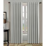 H.Versailtex Thermal Insulated Blackout White Curtains 52×84 inch for Bedroom/Living Room,Back Tab / Rod Pocket Window White Drapes – Set of 2 Panels