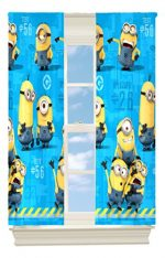 Universal MU440C Minions Testing In Progress Microfiber Drapes, 82 by 63-Inch