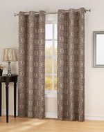 Sun Zero Ravi Thermal Lined Energy Efficient Curtain Panel, 40″ x 84″, Wine Red