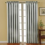 Eclipse Canova Blackout Window Curtain Panel, 42 by 95-Inch, Gray