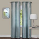 Achim Home Furnishings Sombre Pair Window Curtain Panel, 40″ x 84″, Mist