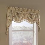 United Curtain Jewel Heavy Woven Austrian Valance, 108 by 30-Inch, Multi