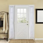 Onlycurtain 4 Piece Soild Voile French Door Curtain Panels 30 by 72 Inches-White