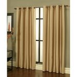 Gorgeous Home (#34) 1 PANEL SOLID DARK GOLD 84″ STANDARD 100% BLACKOUT TEXTURE HEAVY THICK THERMAL FOAM LINED WINDOW CURTAIN DRAPE SILVER GROMMETS