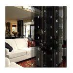 Home Decor Door String Crystl Bead Window Curtain Room Wall Tassel Divider Draperies