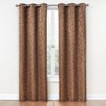 Eclipse Meridian Blackout Window Curtain Panel, 42 by 95-Inch, Spice