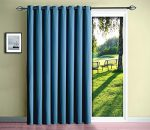 Warm Home Designs 1 Panel of Insulated Thermal Teal Blue Blackout Curtains. Each Extra-Thick Patio Door or Room Divider Curtain Is 102″ X 84″ in Size – Teal Blue Patio