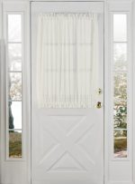 Stylemaster Home Products Elegance Voile Door Panel, 60 by 40-Inch, Beige