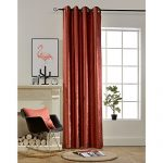 BOKO Natural Chenille Blackout Grommet Window Panel Curtains, 54 X 96 inches, Curtains for Bedroom, Curtains for Livingroom, Comes with a Pillow Cover in the Same Fabric