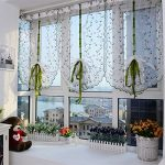 "AutumnFall® 1 PC Flower color Tulle Door Window Curtain Drape Panel Sheer Scarf Valance 39.4"" x 31.5"""