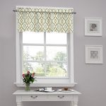 Traditions by Waverly Make Waves Tailored Window Valance, Latte